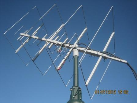 LEO sat V/U antennas